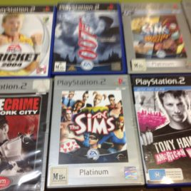 PlayStation 2 games assorted