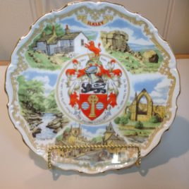 Commemorative Bone China Goss The Ilkley Plate
