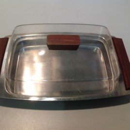 Vintage KH Butter Dish With Lid