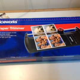 A4 Paper Trimmer Model owa4Trim Officeworks