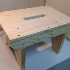 Step Stool Timber Made in Neerim South