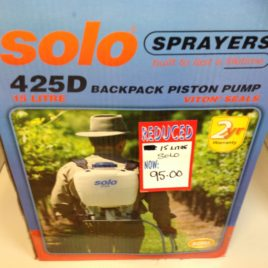 Solo 15 Litre Back Pack Sprayer 425d