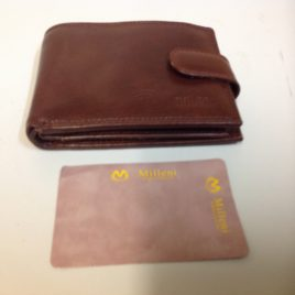 Milleni Wallet Italian Genuine Leather style c4733