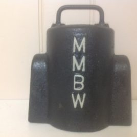 Vintage MMBW Water Meter Cover 3/4 Cast Iron