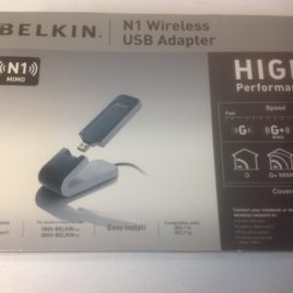 Belkin  n1 Wireless USB Adaptor New in box