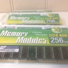 Ram Memory Modules DDR 400 256mb