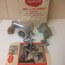SUNBEAM MEAT AND FOOD MINCER ATTACHMENT MODELS
