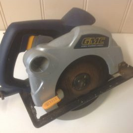 GMC MX1275 1200w Electric Corded Circular Saw 65mm Great
